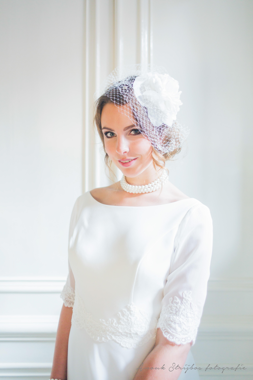 Bruidscouture met kanten details